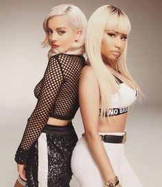 "STREAM: Bebe Rexha - ""No Broken Hearts"" ft. Nicki Minaj : Nicki Minaj"