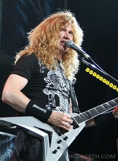 Rattlehead...Dave Mustaine!! Megadeth - My favorite heavy metal band!!
