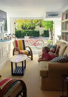Garage Conversion - pull-out couch for guests, or another entertaining space for parties?