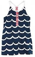 Le Top Ocean Wave Rope Detail Sundress or Beach Cover-Up #toddler
