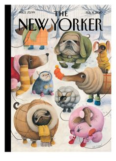 The New Yorker Cover - February 8, 2010