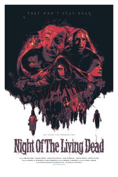Night of the Living Dead via decapitateanimals
