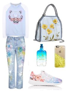 """""""Modern Hippie """" by anastasiia-loparevich on Polyvore featuring мода, Kenzo, Rialto Jean Project, NIKE, STELLA McCARTNEY, Casetify, Calvin Klein и modern"""