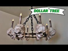 Dollar Tree Halloween Decor, Dollar Tree Decor, Spooky Halloween Decorations, Dollar Store Halloween, Halloween Trees, Dollar Tree Crafts, Halloween Projects, Halloween Party Decor, Halloween Crafts