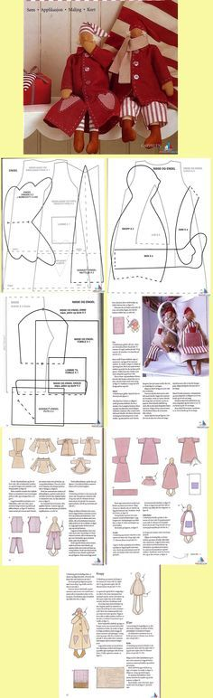 Oh, yah! A pattern for a sweet Nisse. Must keep for Christmas! :) <3