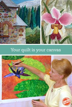 Create two stunning pictorial quilts with guidance from expert Annette Kennedy. Enjoy lifetime access to this engaging, online video class you can view anytime, anywhere!