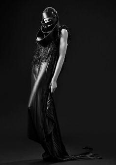 Barbara Í Gongini | Macabre | goth | dark fashion | high end | editorial | obscur