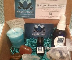 Balance Box! A monthly subscription box for your soul