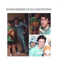 Lol I mean half the time Mendes army can't breath soo... No I'm jk but great costume love you Shawn