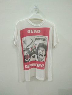 Rare Vintage 1982 Dead Kennedys Halloween Shirt Punk Rock The Clash Ramones The Damned