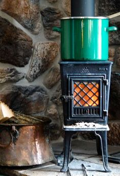 Norwegian Wood Stove.