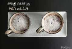 Pamcakes: MUG CAKE ALLA NUTELLA