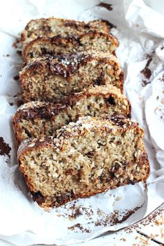 Tak Tak, Healthy Desserts, Healthy Recipes, Healthy Banana Bread, Breakfast Menu, Healthy Comfort Food, Love Eat, Sweet Bread, Vegan Friendly