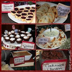 Awesome Harry Potter party with recipes and printables