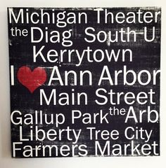 Which Ann Arbor spot is your favorite?