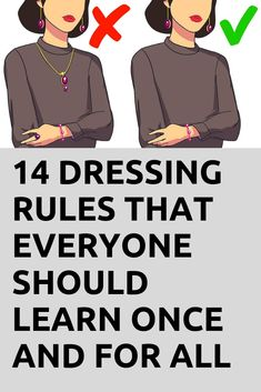 14 Dressing Rules That Everyone Should Learn Once and for All - Viral Hacks Fashion For Petite Women, Fashion Tips For Women, Fashion Advice, Over 60 Fashion, Over 50 Womens Fashion, 50 Fashion, Ladies Fashion, Fall Fashion, Classy Women Quotes