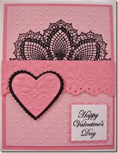 Pretty Valentines Day Card