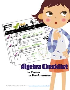 Algebra Review Guide!!!  14 page checklist includes BOTH Part 1 (Linear)and Part 2 (Non-Linear).I created this checklist as a review guide for my students in Algebra 1. T...