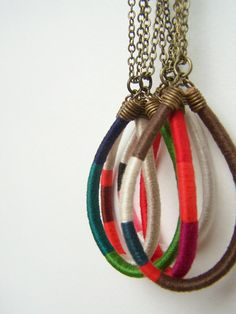 DESIGN YOUR OWN custom large Owen necklace  by OrangeistheSun, $32.00