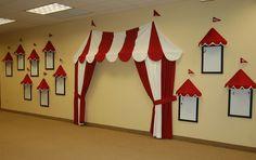 Fun indoor circus tent