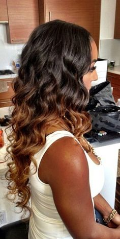 ombre hair extensions lose wave, love this hair, beautiful. Love Hair, Gorgeous Hair, Ombre Hair, Weave Hairstyles, Straight Hairstyles, Wedding Hairstyles, Hair Length Chart, Loose Waves Hair, Peruvian Hair