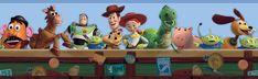 Toy Story 3 - Disney Toy Chest Wall Border - InteriorDecorating