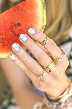 Love the nails AND the jewelry!!!