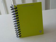 Mini Notebook, 3.50 X 2.75, 100 Sheets, Disney, Paint Sample Cards, Upcycled, Handmade, Gift, Blank Book, Small Notebook, Notepad, Green by LeeEmporium on Etsy