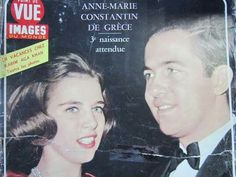 Queen Anne - Marie and King Constantine
