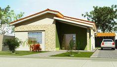 Decor Salteado - Blog de Decoração | Design | Arquitetura | Paisagismo: Fachadas de Casas Simples, Bonitas e Pequenas!
