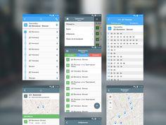 - Transport app - by  Iryna