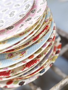 Mix up the plates for your party-  from Avoca Ireland www.avoca.ie