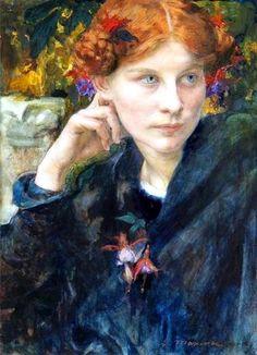 edgar maxence, french, 1871-1954.