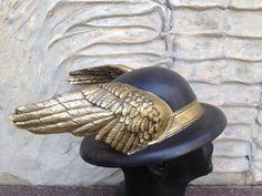 Steampunk Bowler HatSteampunk Hat HermesHermes by BirdArtBulgaria
