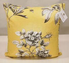 William Morris Pink And Rose Pillow Cover In Vellum Indigo
