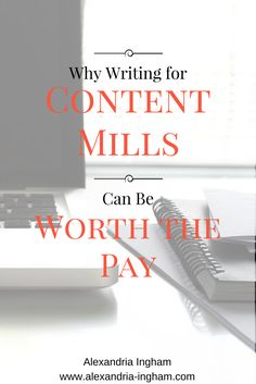 Content mills are just one way for writers to make money online. They get a bad reputation, but I have an unpopular opinion. Here are ways that they can actually help you as a writer.
