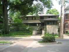 Frank Thomas House. Oak Park, Illinois, 1901