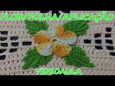 addicted flower crochet, leaf, bud and butterfly for .For Vanessa Marcondes application. Beau Crochet, Crochet Granny, Knit Crochet, Crochet Hats, Crochet Leaves, Crochet Doilies, Crochet Flowers, Crochet Designs, Crochet Patterns
