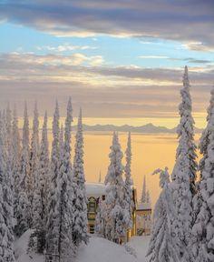Silverstar Mountain Sunrise, British Columbia, Canada | by Noa Deutsch, via 500px