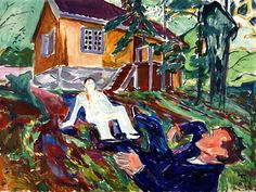 The Fight Edvard Munch - 1932
