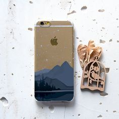 iPhone 5s Case Mountains iPhone 6 Case Stars iPhone от WolfCases