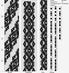 Crochet Bead Pattern 13 Circumference