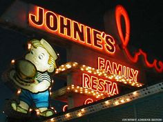 "Downey, CA, restaurant, same vintage as early ""Big Boy."""
