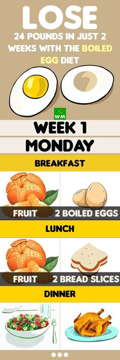 If you take up this boiled egg diet and don't eat unhealthy food for some time, you will considerably build up your metabolism.