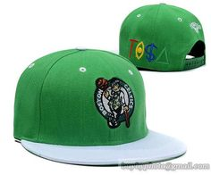 757bd578c34 TISA Snapback Boston Celtics Green White