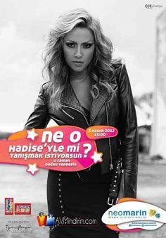 Hadise Konseri 3 Kasım'da Neomarin AVM'de