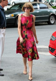 Anna Wintour - Anna Wintour At The Greenwich Hotel In New York