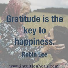 key to happiness - Grateful