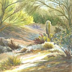 Watercolor paintings and giclee prints for sale plus watercolor tips and instructional videos from Ellen Fountain, NWS