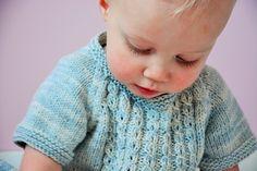 Beautiful knit dress by Julie Jaeken of Julija's Shop in Antwerp using MoYa's DK cotton yarn